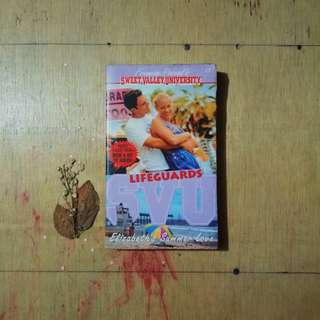 Sweet Valley Universities: Lifeguards by Francine Pascal (pocketbook)