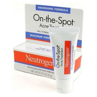 NEUTROGENA ON THE SPOT PIMPLE CREAM
