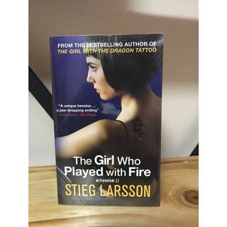 Millennium Series: The Girl with the Dragon Tattoo / The Girl Who Played with Fire / The Girl Who Kicked the Hornets' Nest by Stieg Larsson