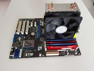 i2500k, ASRock P67 Pro3, 16GB Kingston RAM