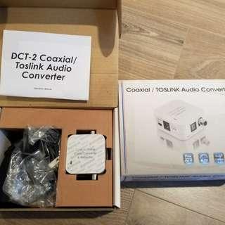 Coaxial / Toslink Audio Converter