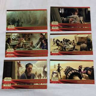 Star Wars Episode 1 The Phantom Menace  Widevision cards by TOPPS 1999 set 3