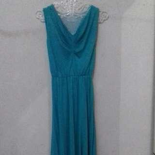 Long dress tosca