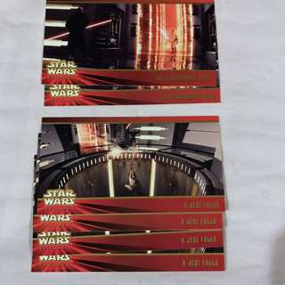 Star Wars Episode 1 The Phantom Menace  Widevision cards by TOPPS 1999 set 6