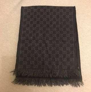 Gucci 圍巾 深藍