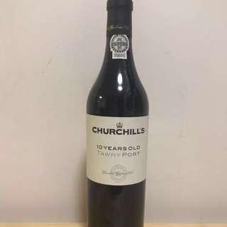 Churchill's10年砵酒