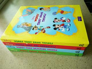 WTS Disney Set of Four books (Grolier)