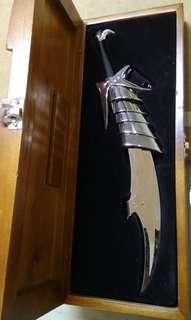霸刀,太歲配刀,12寸誅天,精美木盒包裝,馮志明作品,J A出品