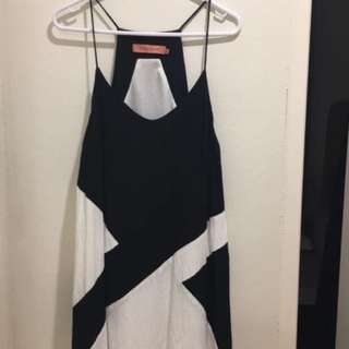 Rodeo Show black and White Dress Size 8