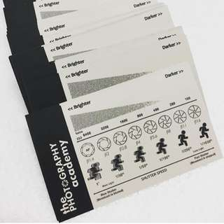 FREE Photography cheatsheet