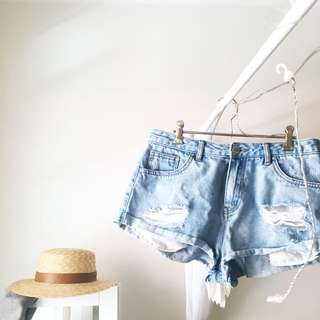 GLASSONS DENIM SHORTS