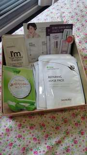 [New] x15 Assorted korean face masks