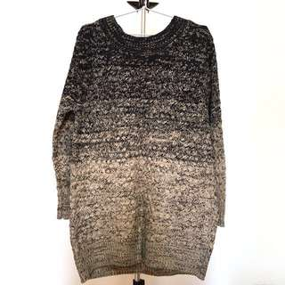 全新* 日貨 漸層混色毛衣 #冬季衣櫃出清 #有超取最好買