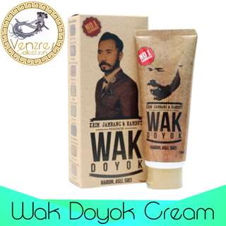 Authentic Wak Doyok Beard & Hair Cream (Highly Recommended)
