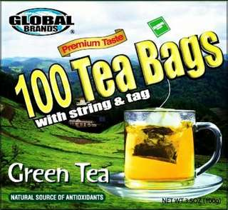 Imported Green Tea bags