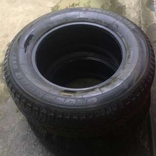 Montero TIRES (2 for 4000php)