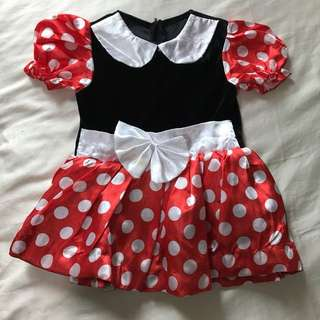 Minnie Mouse costume for 2 yr old