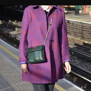 Max & Co. patterned wool coat