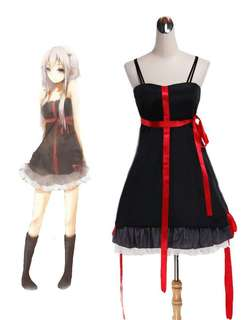 Inori Guilty Crown Black Dress