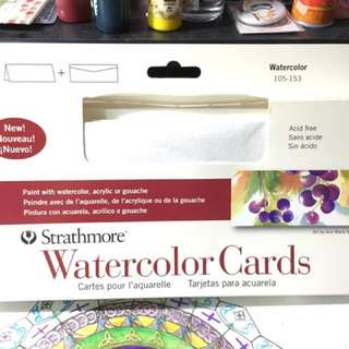 Strathmore Watercolor Cards