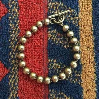 銀珠手鏈 純銀 925