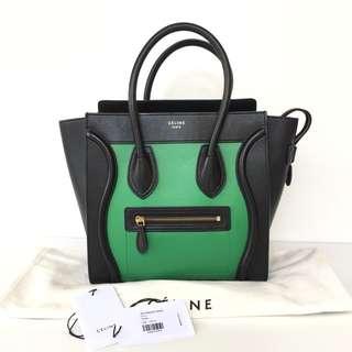 Authentic Celine Micro Luggage