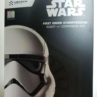 [減價!] Starwars Ubtech 白兵 機械人 (Star Wars First Order Stormtrooper Robot)