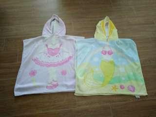 Swim hood towel $6 for two pcs
