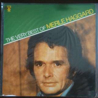 Vinyl Record: The very best of Merle Haggard