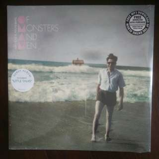 Vinyl record: Of monsters and men - My head is an animal
