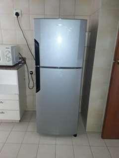 Panisonic Refrigerator  Length 53cm Width 55cm Height 139cm