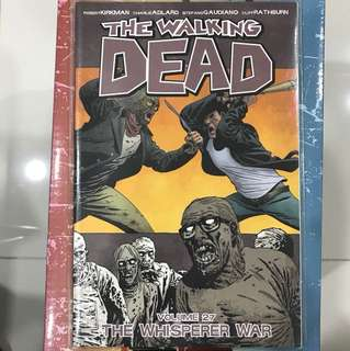 Image's The Walking Dead TPB Vol 27: The Whisperer War