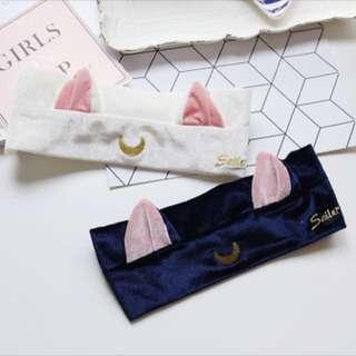 Sailor moon cat makeup hair band (Luna and Artemis)