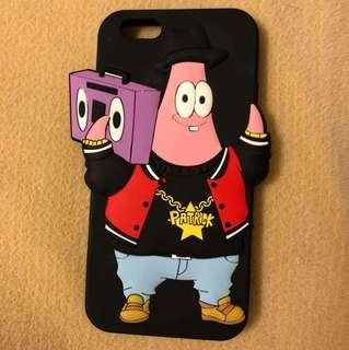 SpongeBob x Mina Kwon Patrick Star phone case for iPhone 6