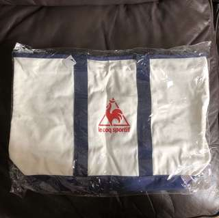 Le coq sportif canvas bag