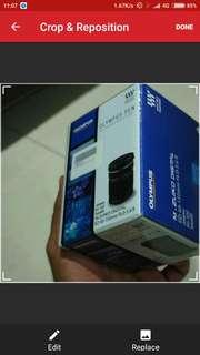 Olympus telephoto 40-150mm lens
