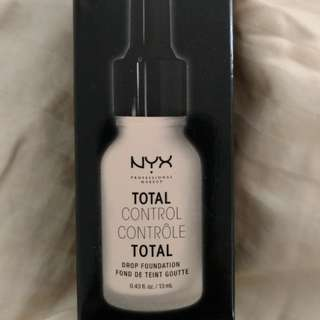 NYX total control drops Foundation Brand New in Box.