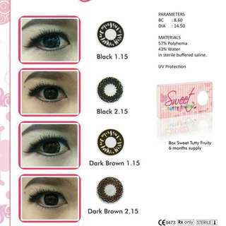 Softlens Sweet Dark