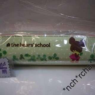 (現貨)The Bears School Jackies 小熊學校 長窄形 筆袋 包包 原裝日本進口 100%全新品