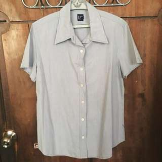Button down short sleeves