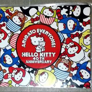 Hello Kitty 40th anniversary Collectables