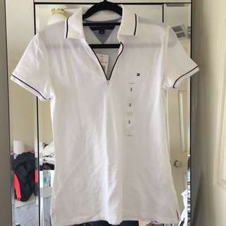 NEW Tommy Hilfiger polo top Size S