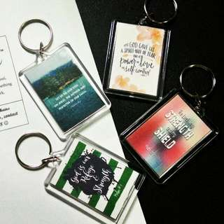 Personalized Keychains for souvenirs/gifts/giveaways