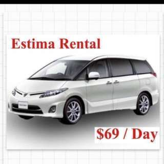 Toyota Estima MPV 8-Seater Odyssey BMW Car Leasing / uber Grab Rental  Cheapest in Town  💰👍 (Not Vezel Kia K3 Hyundai Elantra)