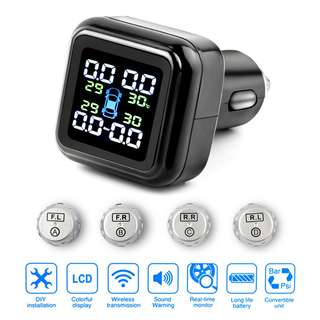 Smart Car TPMS Tire Pressure Monitoring System