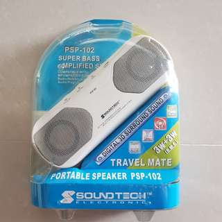Portable Amplified Speaker (BNIB)