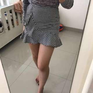 H&M Tartan Skirt