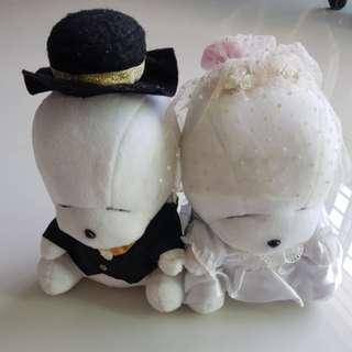 Mashimaro Wedding Plush