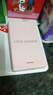 BTS LOVE Myself Keyring