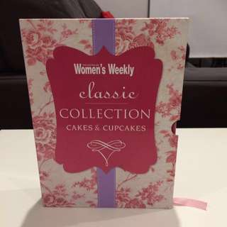 Beautiful Women's Weekly Cakes & Cupcakes books / giftset